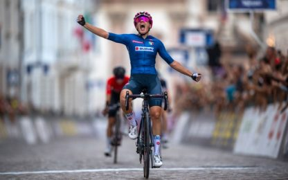 Silvia Zanardi vince l'oro nella gara Under 23