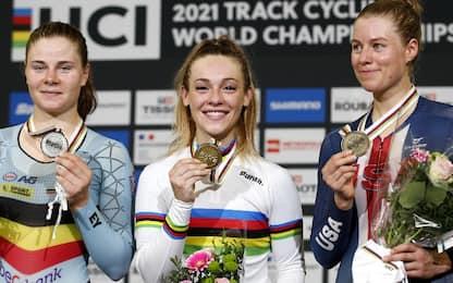 Letizia Paternoster oro nella gara a eliminazione