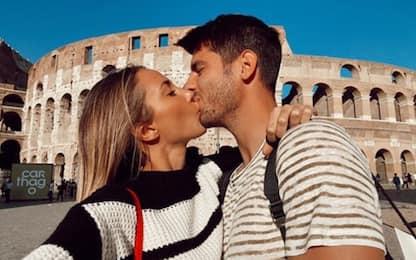 Morata e Alice: cartoline da Roma! FOTO
