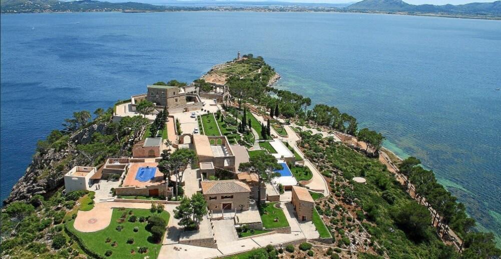 La villa di Maiorca dove si terrà il matrimonio