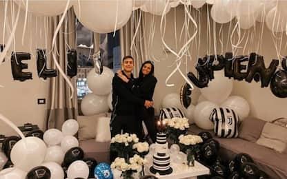 Dybala, festa a sorpresa per il compleanno. FOTO