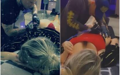 """Wanda Nara """"show"""": ecco il nuovo tatuaggio. FOTO"""
