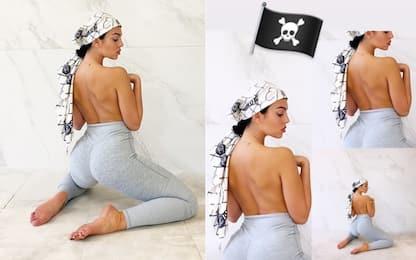 """Georgina Rodriguez: la """"corsara"""" bianconera! FOTO"""