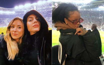Juve-Atletico, show di Rihanna allo Stadium. FOTO