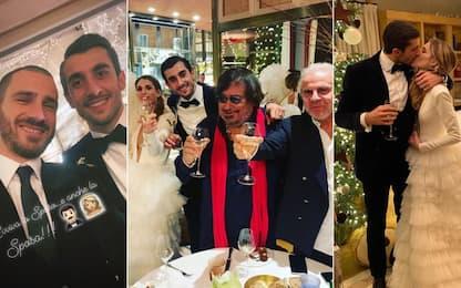 """Perin, nozze """"show"""" con Smaila & Jerry Calà. FOTO"""