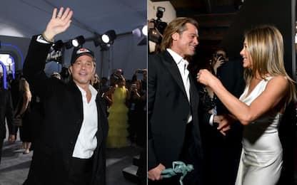 Brad Pitt, che notte: Chiefs e Jennifer Aniston!