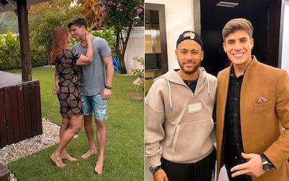 Neymar, la mamma ha un fidanzato di 22 anni. FOTO