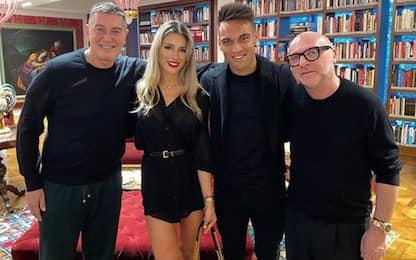 """Lautaro """"griffato"""" D&G: come Messi e Icardi. FOTO"""