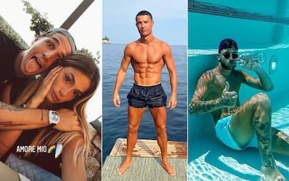 Serie A, amore e relax: le vacanze dei campioni