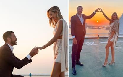 Pellé, proposta di nozze da sogno a Dubai. FOTO