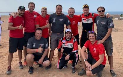 Alonso, podio nel deserto: 3° nel rally a Ula Neom