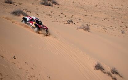 Dakar, 5^ tappa a Sainz. E un brivido