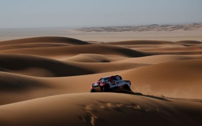Dakar, 8^ tappa: Alonso sfiora la vittoria
