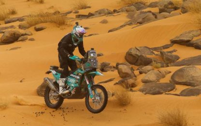 Africa Eco Race, Poskitt vince l'ottava tappa