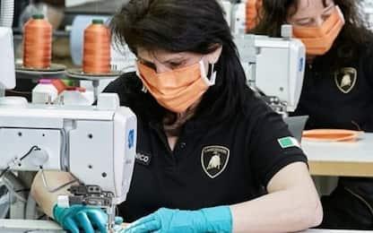 Lamborghini, via alla produzione delle mascherine