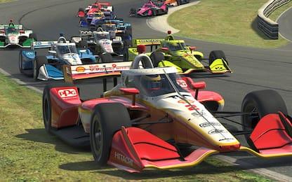 Indycar, la gara virtuale su Sky: il regolamento