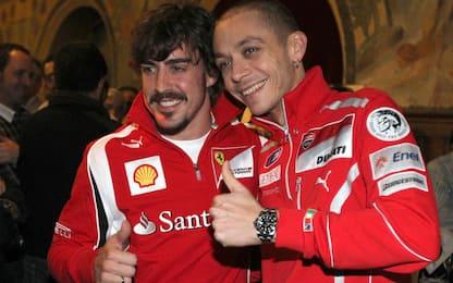 """Alonso, invito a Rossi: """"Corri a Le Mans"""""""