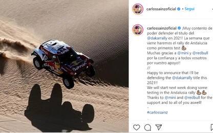 "Sainz senior: ""Difenderò il titolo alla Dakar '21"""