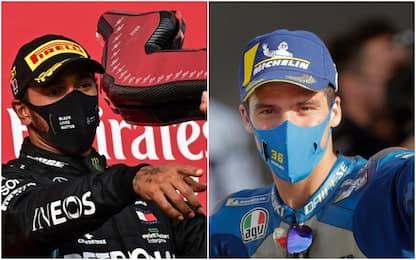 Domenica mondiale: F1 alle 11.10, MotoGP alle 14