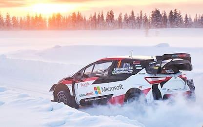 Arctic Rally Finland... gara da brividi