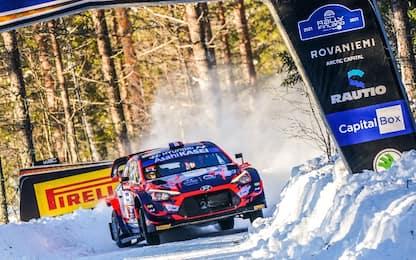Arctic Rally Finland, domia sempre Tanak