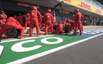 Silvestone, la Ferrari ha fatto tutto bene
