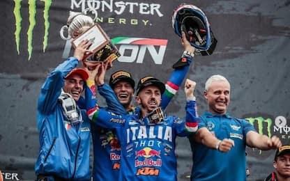 Italia, storico trionfo al Motocross delle Nazioni