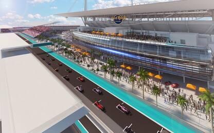 La F1 arriva in Florida: nel 2022 il GP di Miami