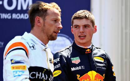 """Button: """"Verstappen il più veloce di sempre"""""""