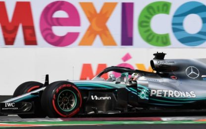 Messico, Hamilton: chance Mondiale. GP alle 20.10