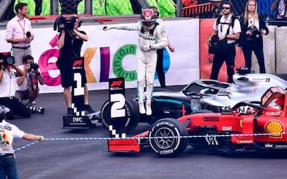 Vince Hamilton, ma titolo rimandato. Vettel 2°