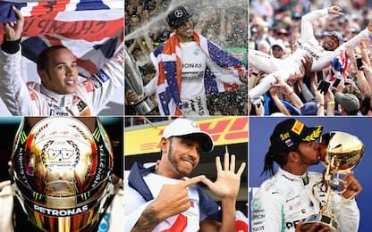 Auguri Lewis! Tutte le vittorie di Hamilton. FOTO