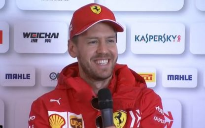 """Vettel: """"Regole? Avrei preferito nuovo motore"""""""