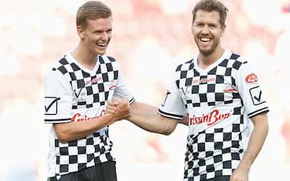 """Schumi jr: """"Vettel mi dà tanti consigli"""""""