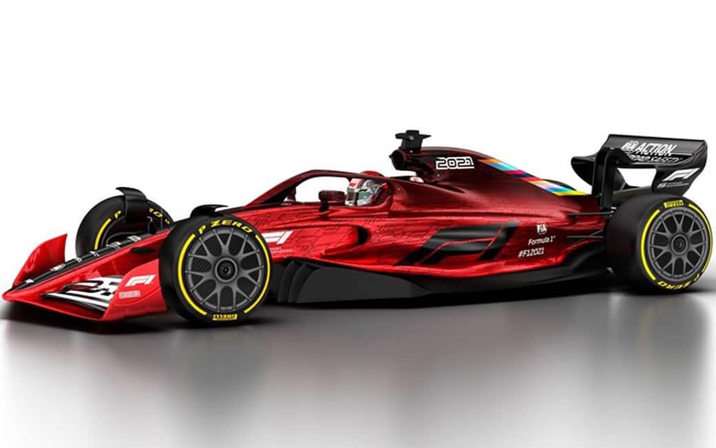 F1 2021: l'anteprima delle vetture su Twitter