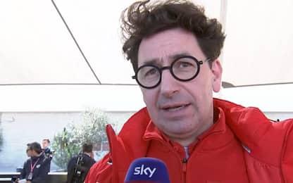 """Binotto: """"Vogliamo vincere le ultime tre gare"""""""