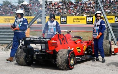 Leclerc cambia motore, ma senza penalità