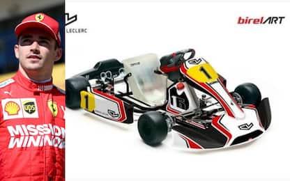 Leclerc, passione kart: annuncia il suo brand