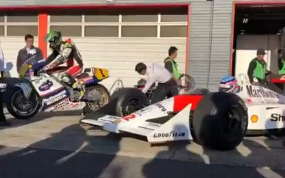 Honda Thanks Day: F1 e MotoGP a Motegi. VIDEO