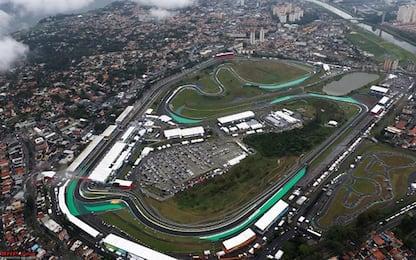 F1 a Interlagos: tutto sul circuito del Brasile