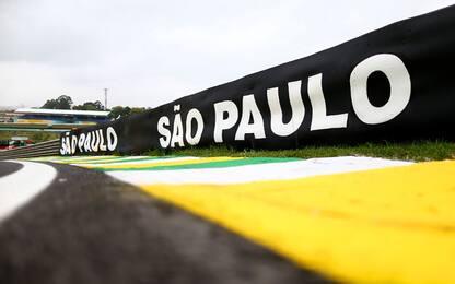 F1, gli orari di Interlagos: GP alle 18.10