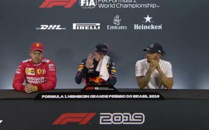 "Verstappen: ""Due pole? Io ne ho fatte tre"". VIDEO"