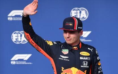 """Verstappen: """"Oggi la macchina volava"""""""