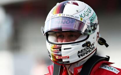 """Vettel: """"Buona qualifica. Gara? Sono ottimista"""""""