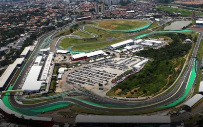 La griglia di partenza del GP Brasile