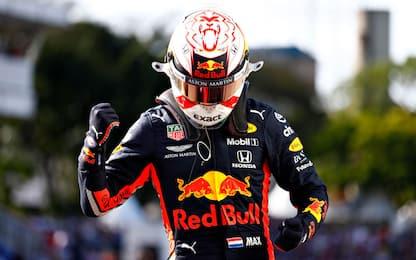 Brasile, Verstappen in pole. Vettel 2°