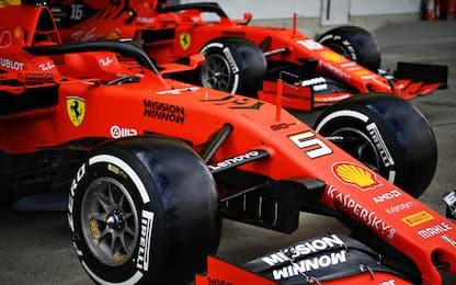 Ferrari, quel piccolo contatto tanto inutile