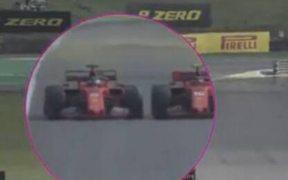 Contatto Vettel-Lecerc, la ricostruzione. VIDEO
