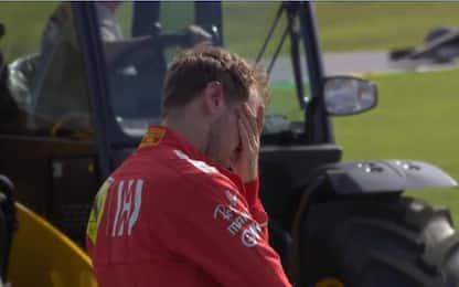 """Vettel: """"Non so perché ci siamo toccati"""""""