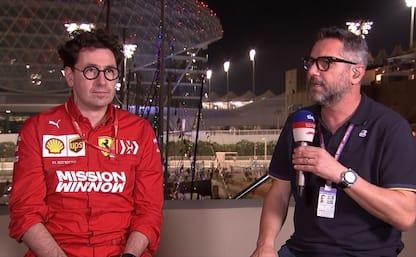 """Binotto a Sky: """"Fortunato con Leclerc e Vettel"""""""